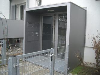 überdachungen Eingangsbereich fürbacher metalltechnik blechbearbeitung blech